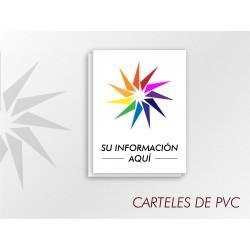 Carteles de PVC