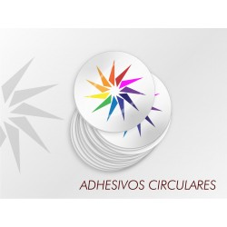 Adhesivos Circulares